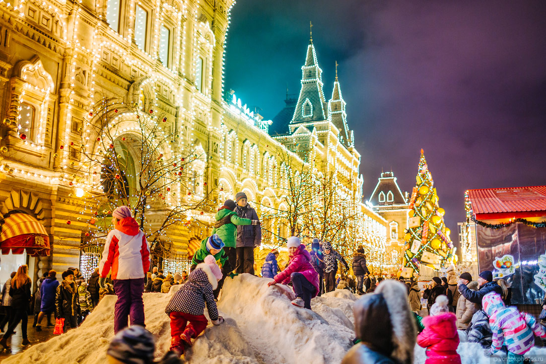 Festival of Christmas and New Year in Moscow - 3