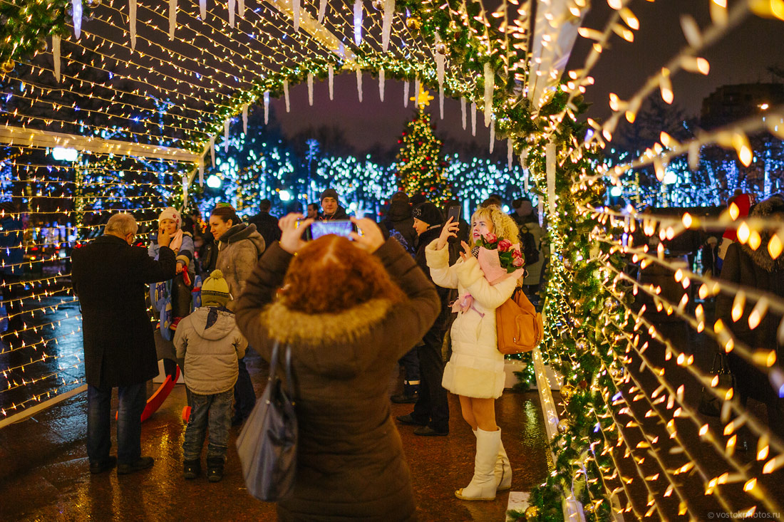 Festival of Christmas and New Year in Moscow - 43