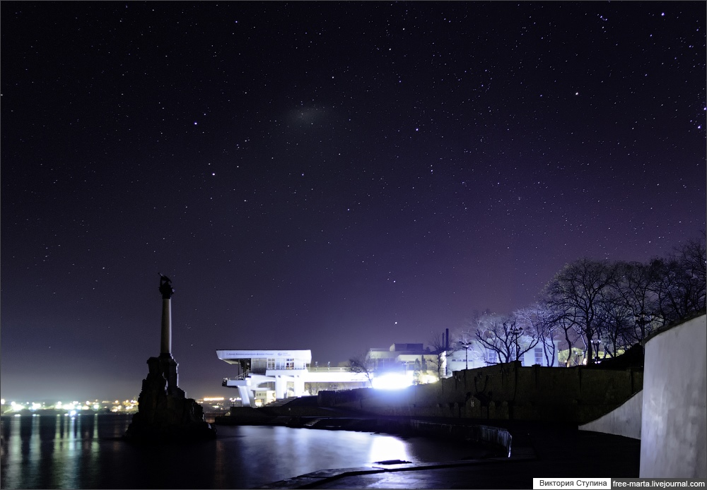 Starry sky of Sevastopol on photographs by Victoria Stupina - 13