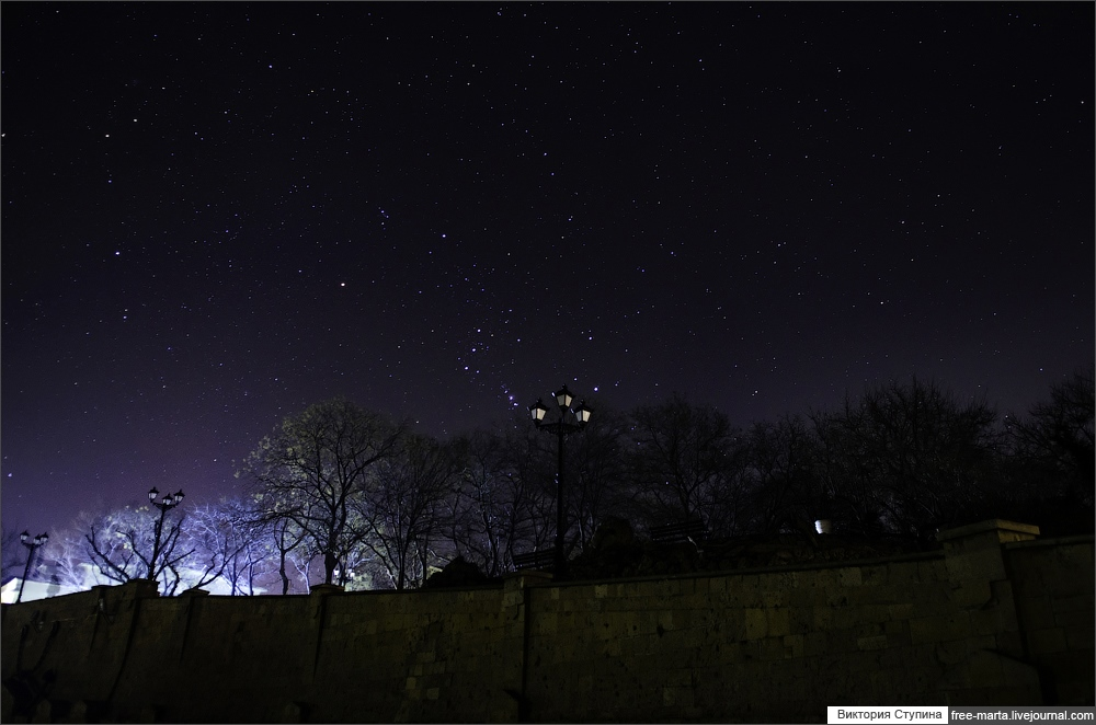 Starry sky of Sevastopol on photographs by Victoria Stupina - 14