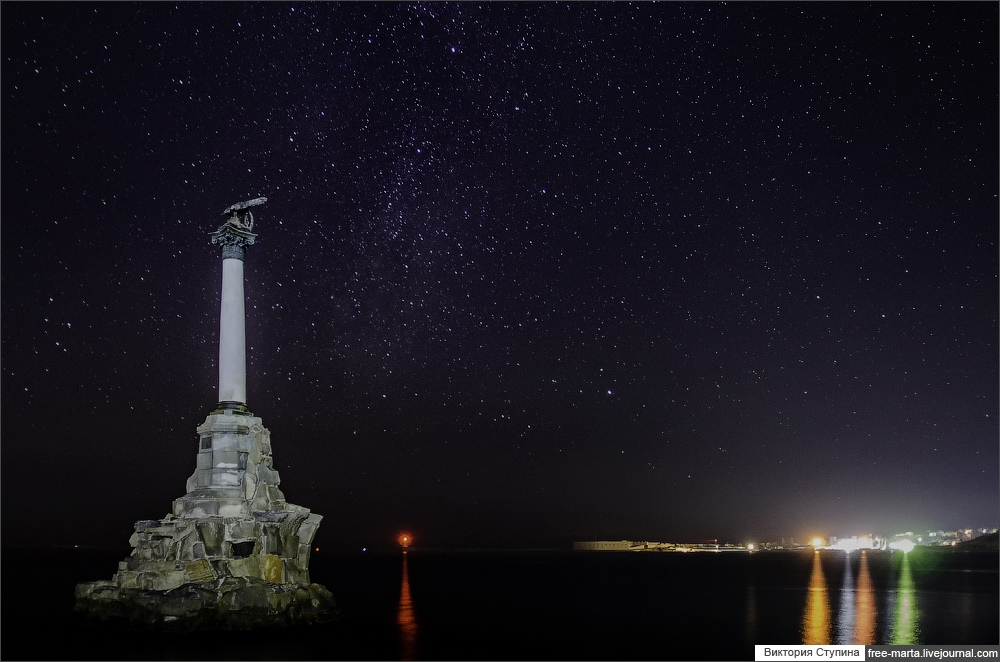 Starry sky of Sevastopol on photographs by Victoria Stupina - 16