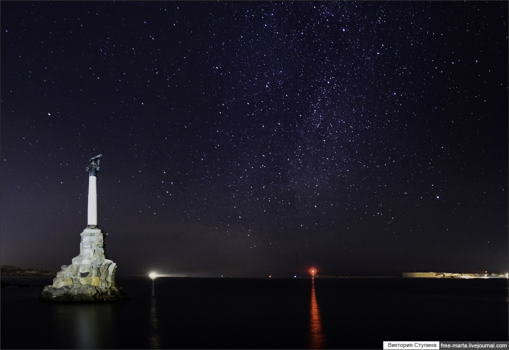 Starry sky of Sevastopol on photographs by Victoria Stupina - 18