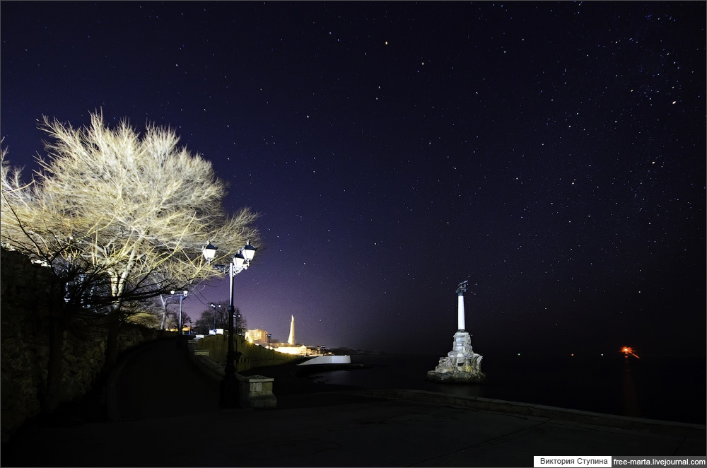 Starry sky of Sevastopol on photographs by Victoria Stupina - 19