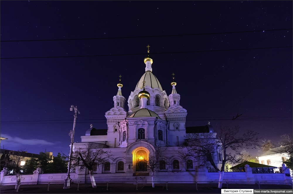 Starry sky of Sevastopol on photographs by Victoria Stupina - 2