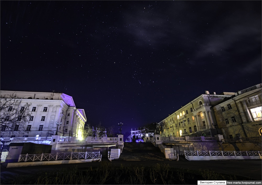 Starry sky of Sevastopol on photographs by Victoria Stupina - 23