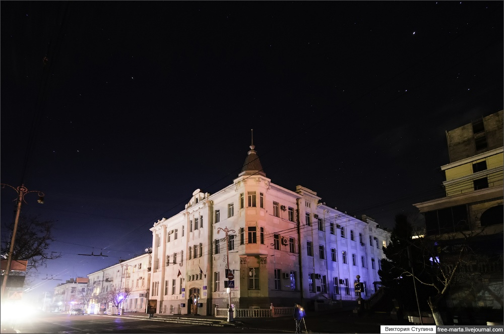 Starry sky of Sevastopol on photographs by Victoria Stupina - 3