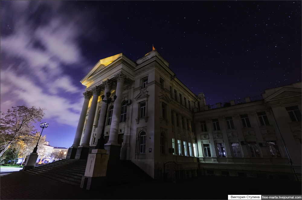 Starry sky of Sevastopol on photographs by Victoria Stupina - 7
