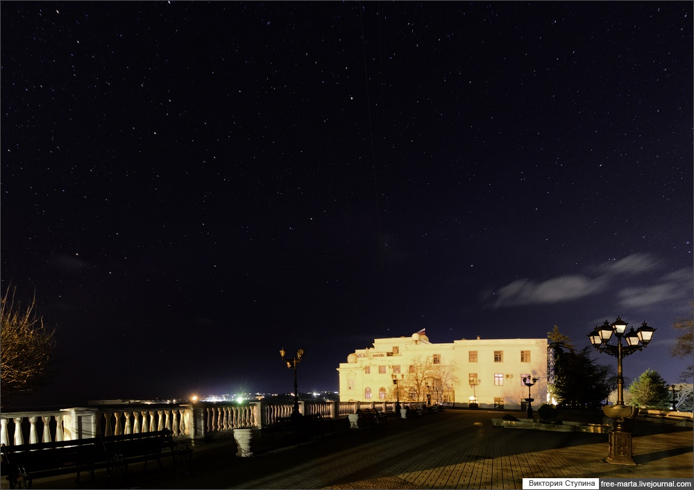 Starry sky of Sevastopol on photographs by Victoria Stupina - 8