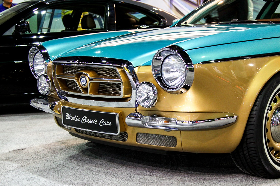 Symbiosis of retro and modernity: Russian car Bilenkin Vintage - 1