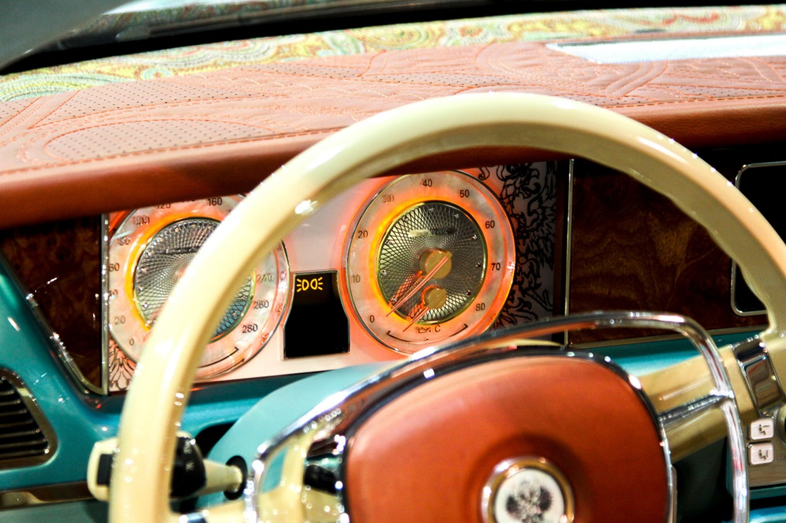 Symbiosis of retro and modernity: Russian car Bilenkin Vintage - 13