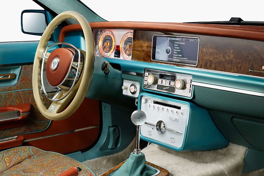 Symbiosis of retro and modernity: Russian car Bilenkin Vintage - 17