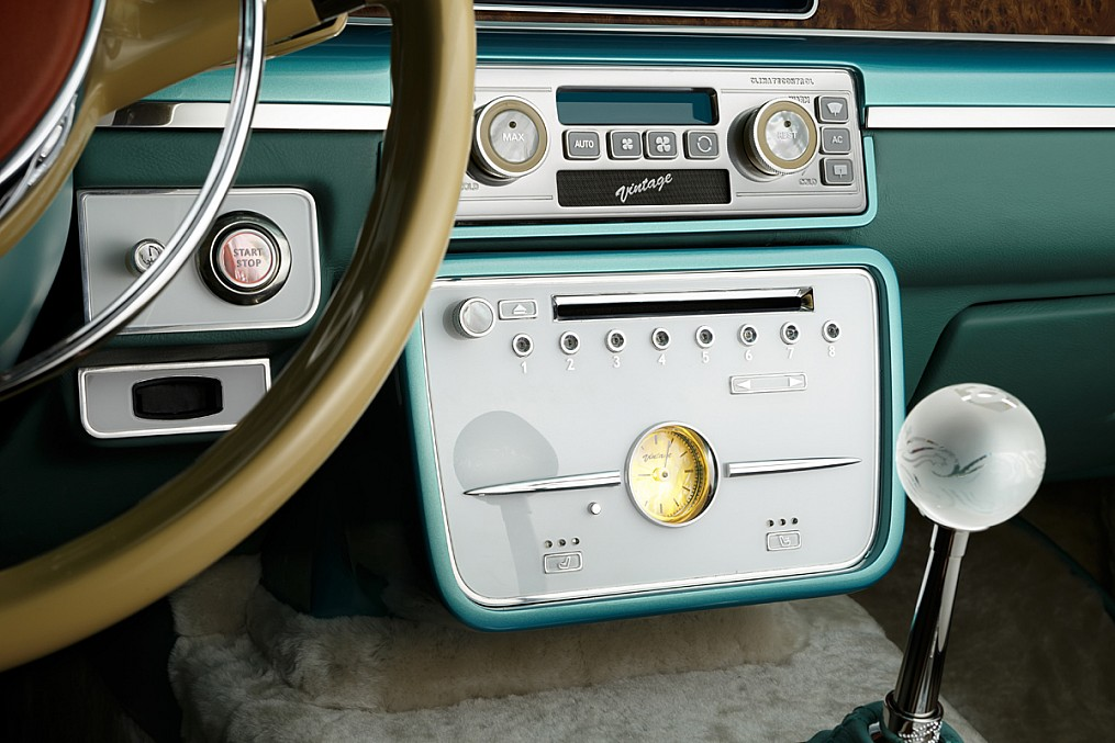 Symbiosis of retro and modernity: Russian car Bilenkin Vintage - 19