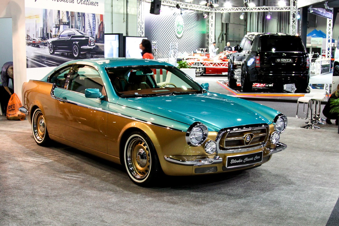 Symbiosis of retro and modernity: Russian car Bilenkin Vintage - 2