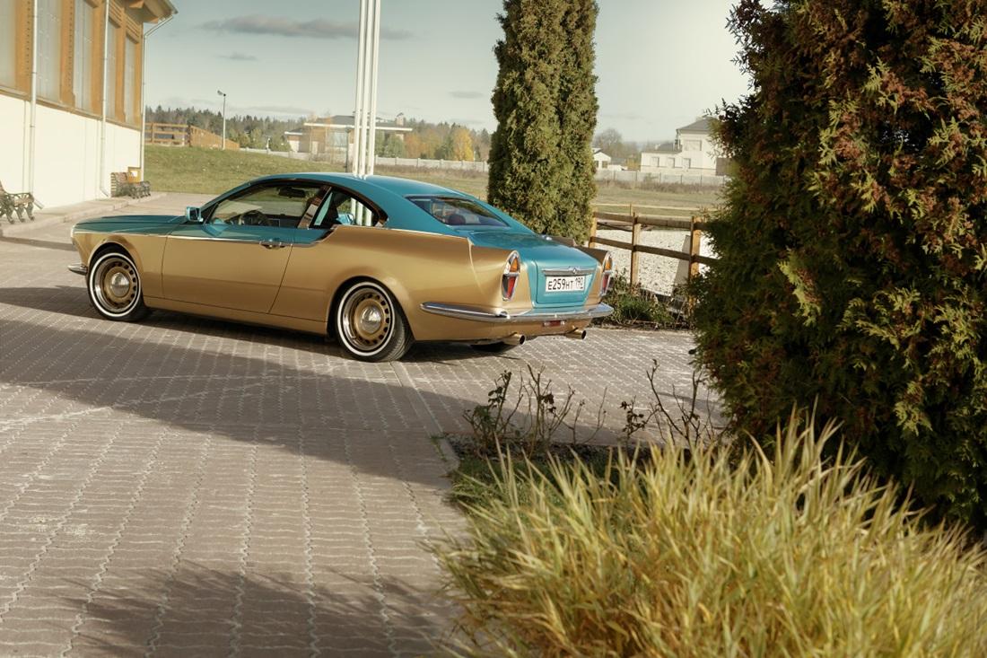 Symbiosis of retro and modernity: Russian car Bilenkin Vintage - 24