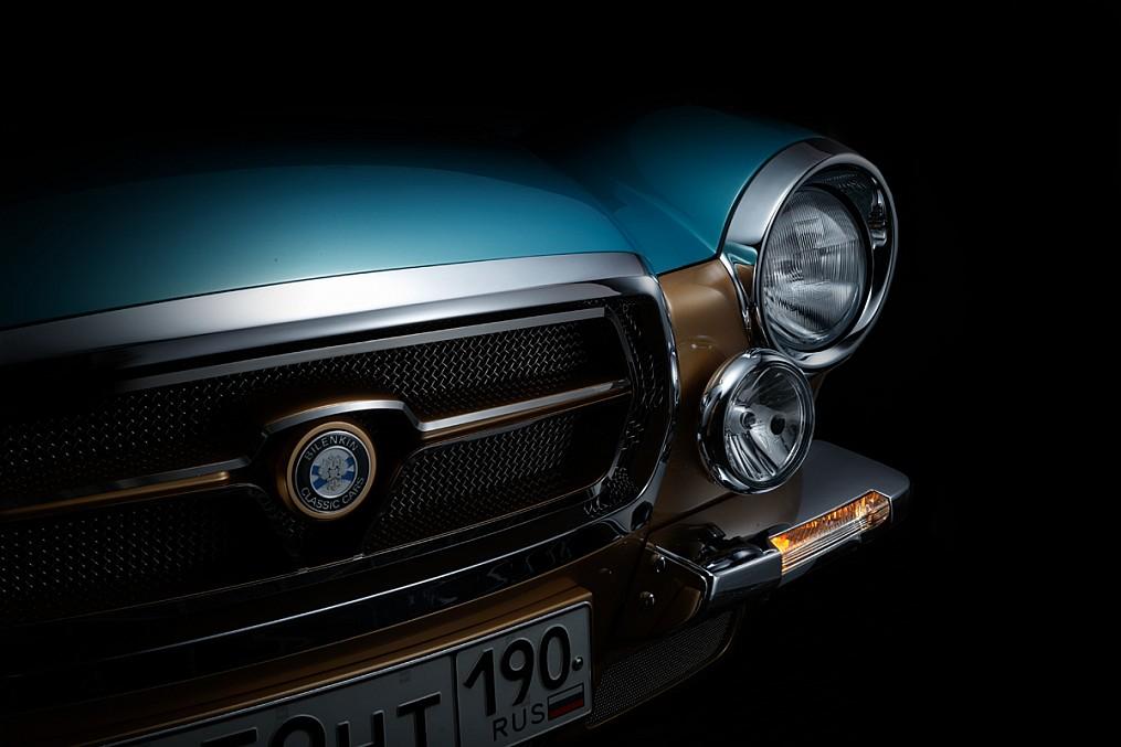 Symbiosis of retro and modernity: Russian car Bilenkin Vintage - 25