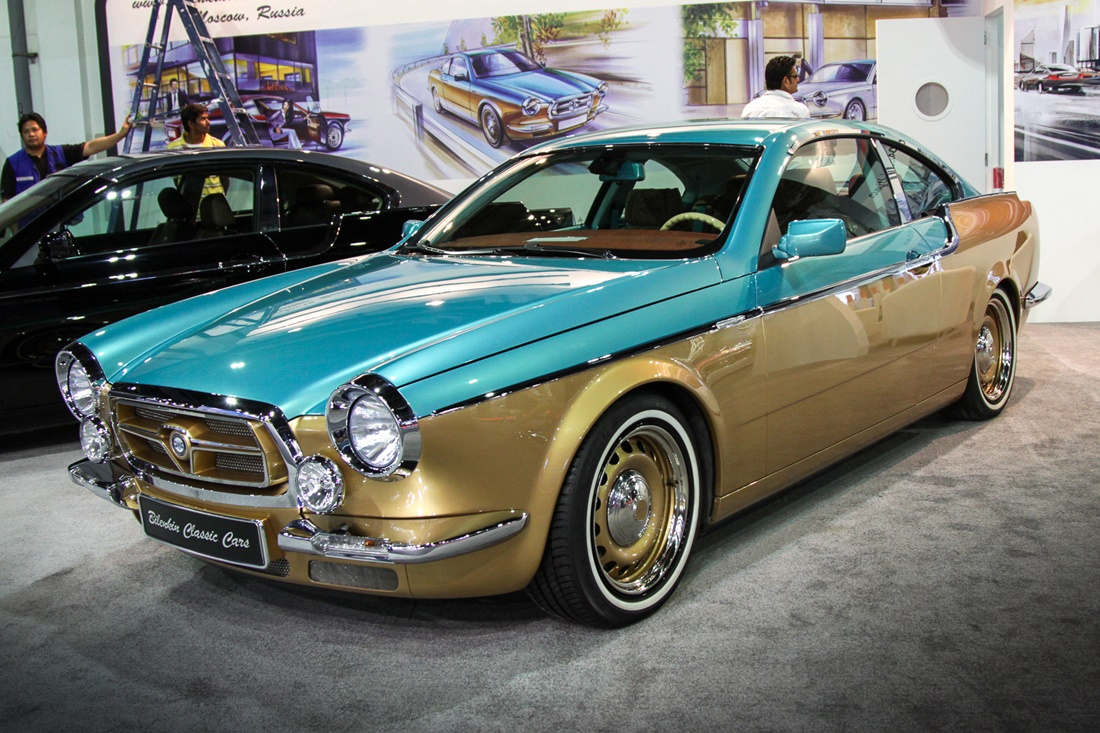 Symbiosis of retro and modernity: Russian car Bilenkin Vintage - 4