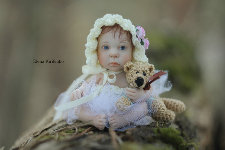 Sweet babies: Inimitable hand-made dolls by Elena Kirilenko - 11