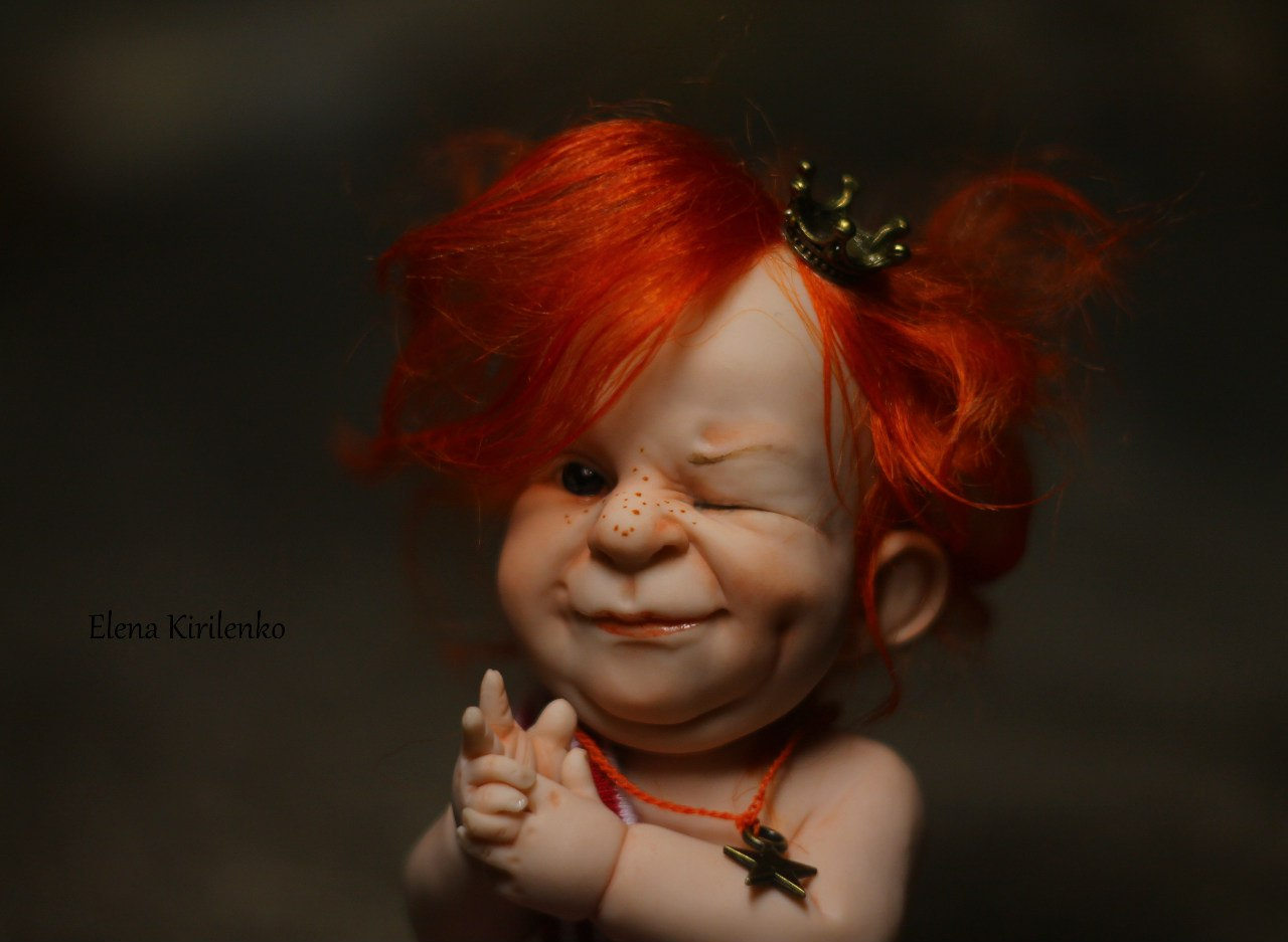 Sweet babies: Inimitable hand-made dolls by Elena Kirilenko - 12