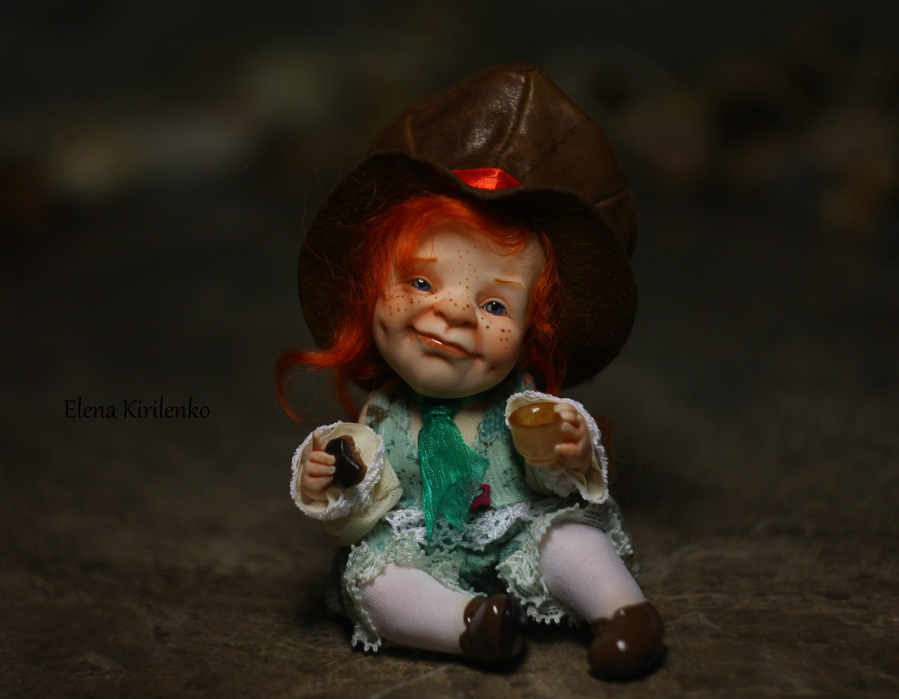 Sweet babies: Inimitable hand-made dolls by Elena Kirilenko - 15