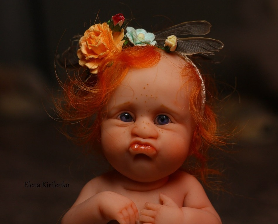 Sweet babies: Inimitable hand-made dolls by Elena Kirilenko - 20