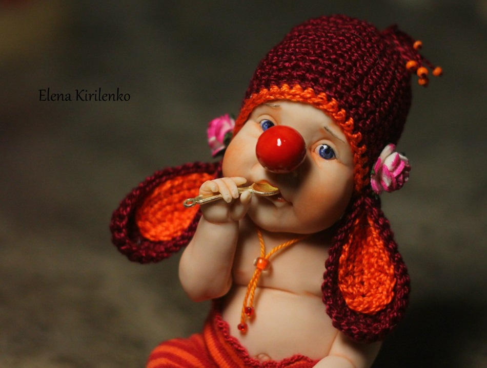 Sweet babies: Inimitable hand-made dolls by Elena Kirilenko - 24