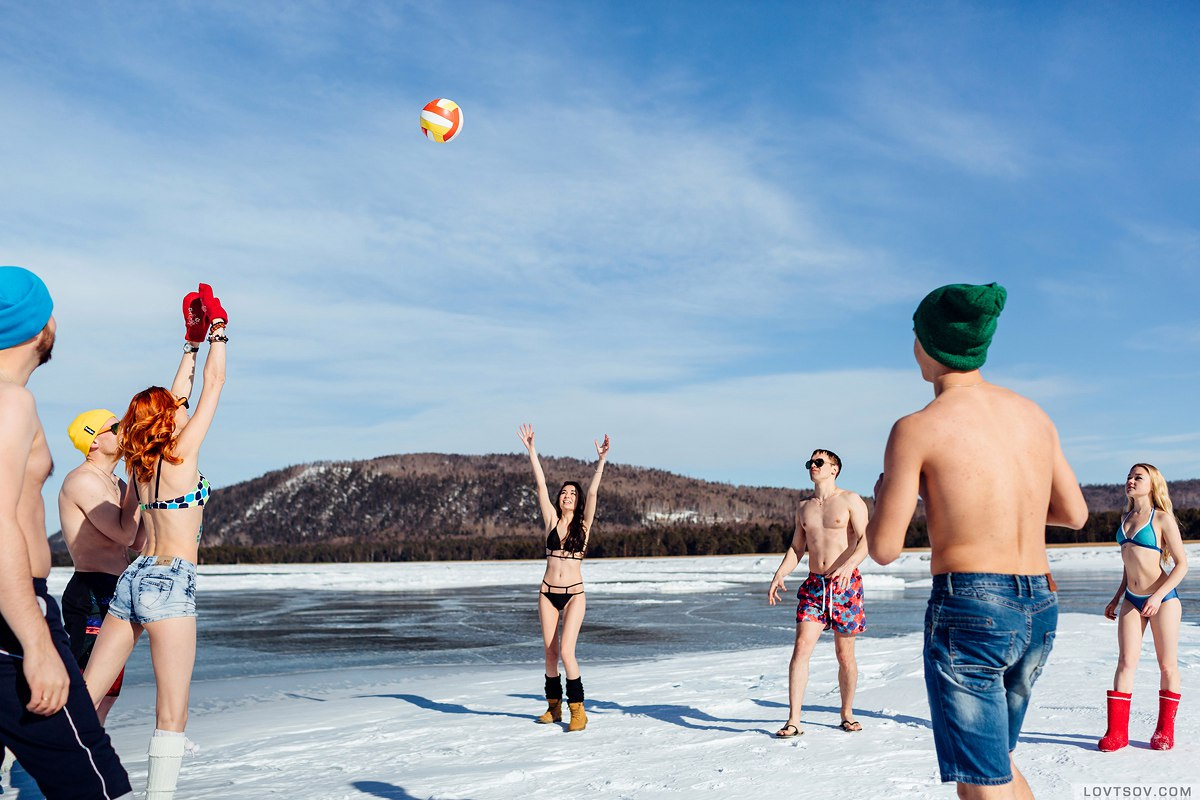 White beaches of Siberia: Frosty party on the lake Baikal - 10