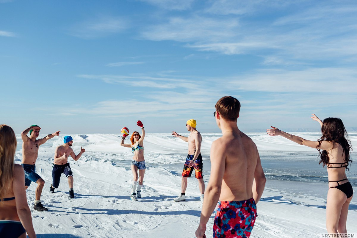 White beaches of Siberia: Frosty party on the lake Baikal - 11