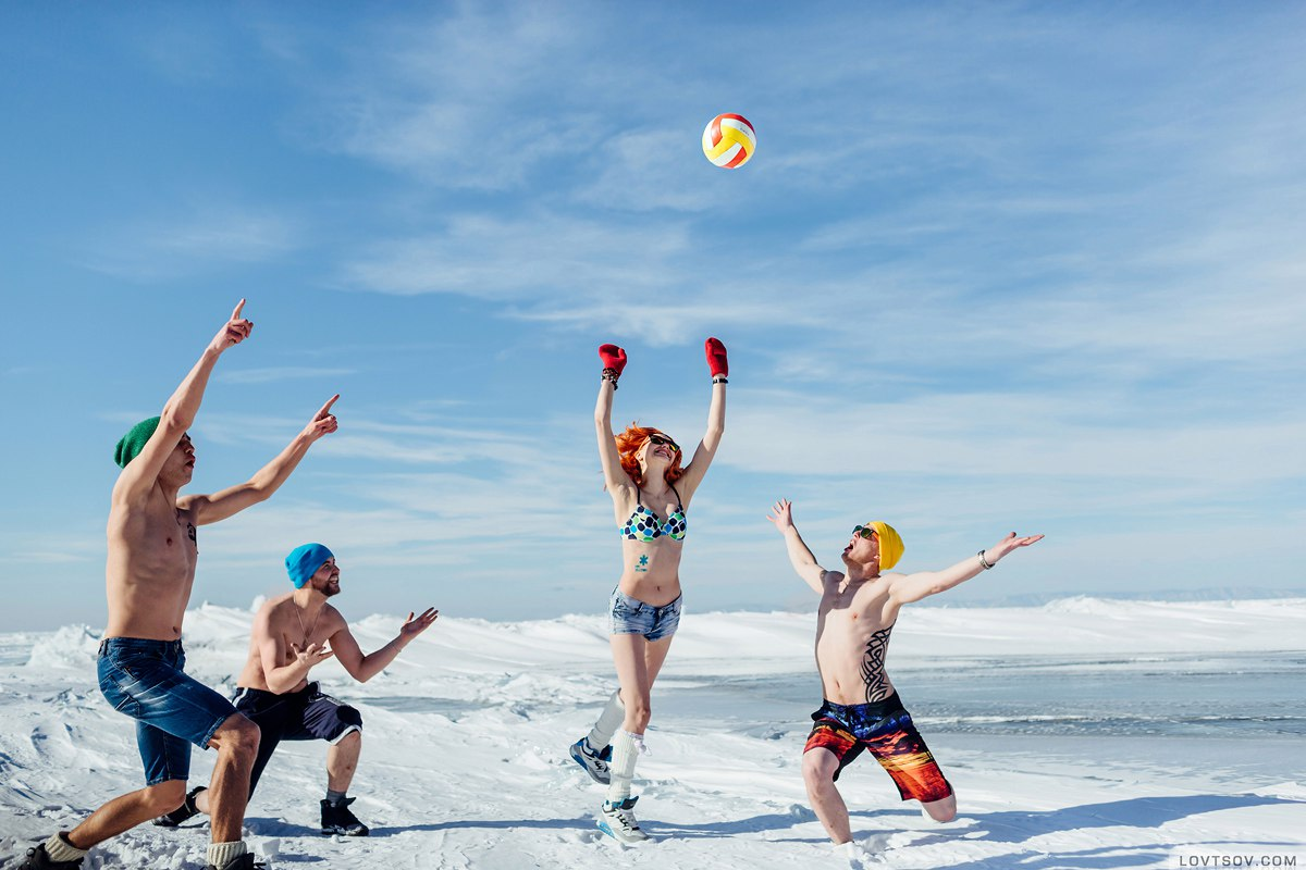 White beaches of Siberia: Frosty party on the lake Baikal - 12