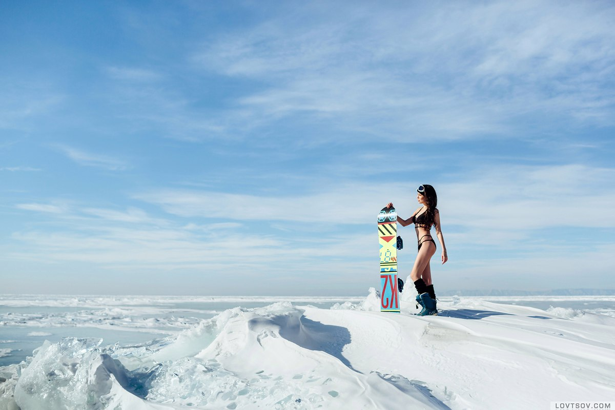 White beaches of Siberia: Frosty party on the lake Baikal - 18