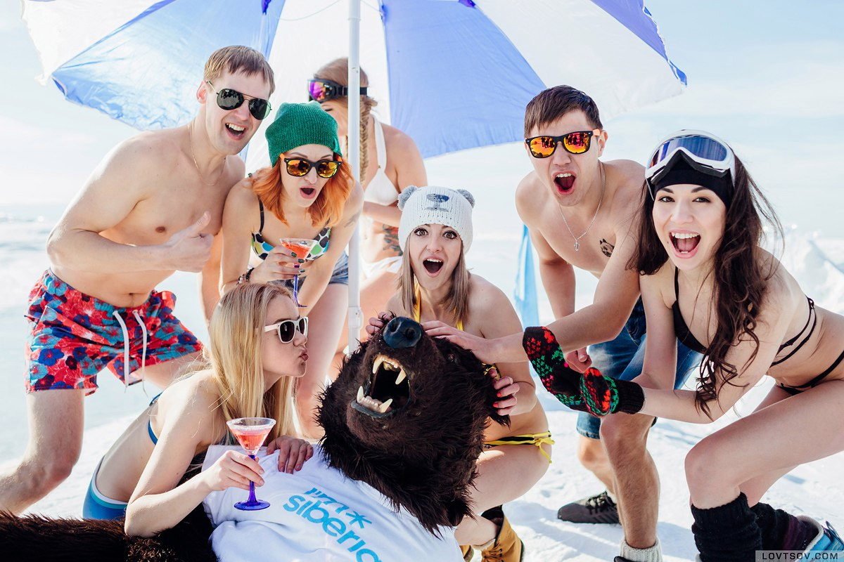 White beaches of Siberia: Frosty party on the lake Baikal - 22