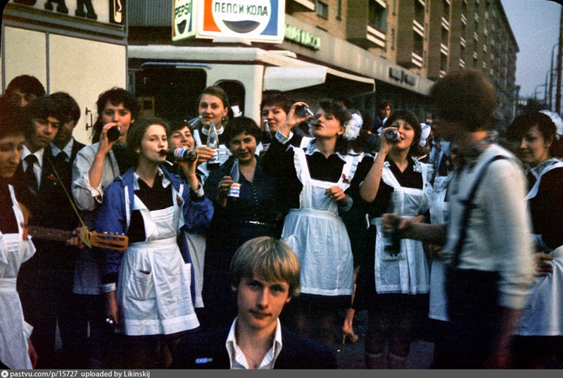Moscow 1980s: Interesting historical photos of the Soviet capital - 13