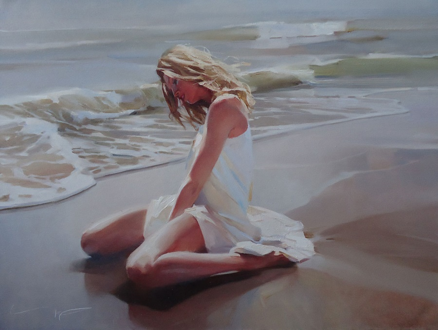 Good morning, beautiful woman: Paintings by Alexey Chernigin - 11