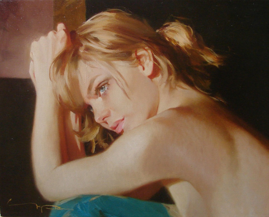 Good morning, beautiful woman: Paintings by Alexey Chernigin - 17