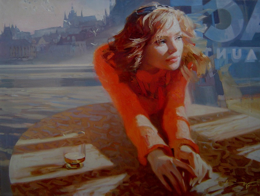 Good morning, beautiful woman: Paintings by Alexey Chernigin - 18