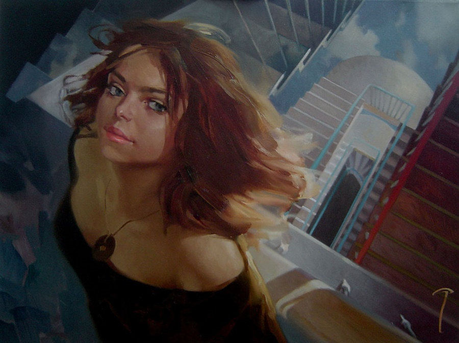 Good morning, beautiful woman: Paintings by Alexey Chernigin - 19