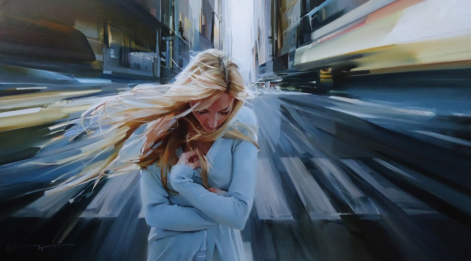 Good morning, beautiful woman: Paintings by Alexey Chernigin - 2