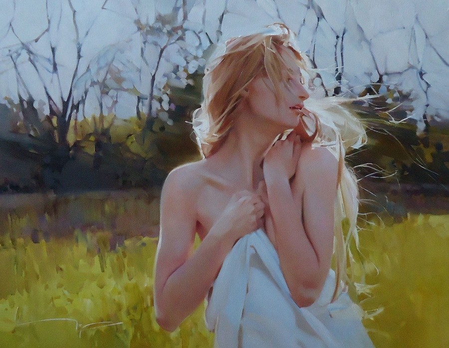 Good morning, beautiful woman: Paintings by Alexey Chernigin - 4