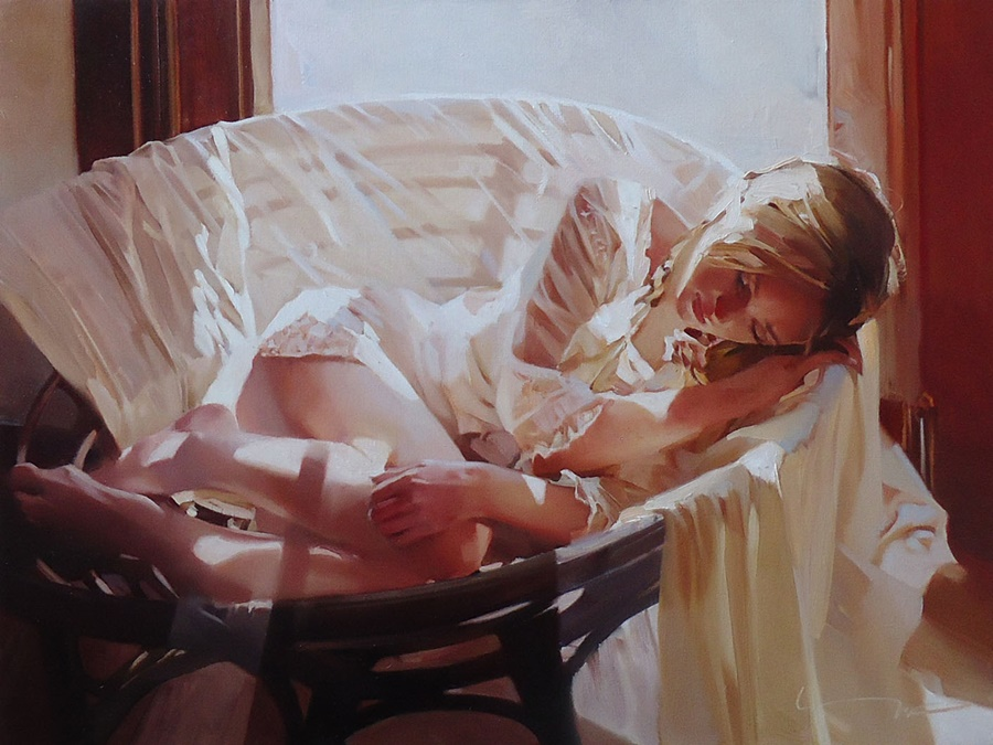 Good morning, beautiful woman: Paintings by Alexey Chernigin - 8