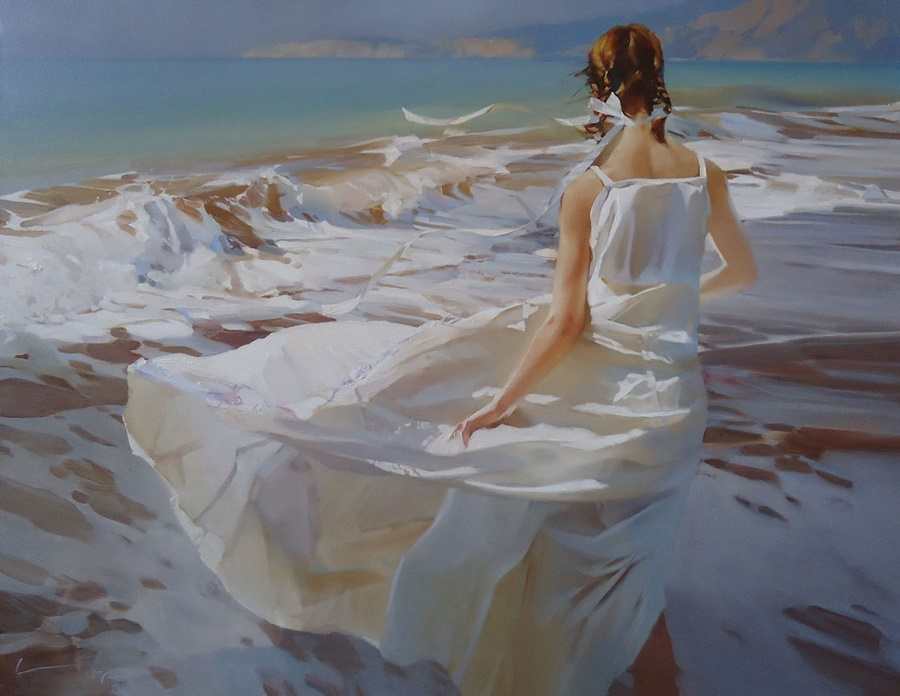 Good morning, beautiful woman: Paintings by Alexey Chernigin - 9