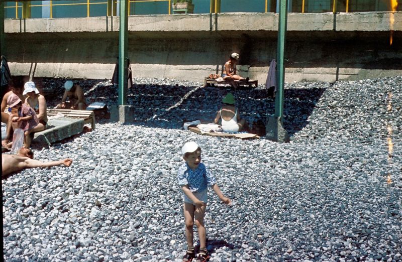 Historical photographs of Soviet Crimea's resort cities in 1970s - 16