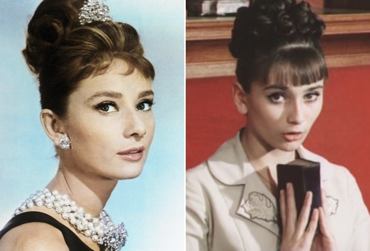 Audrey Hepburn vs Iya Ninidze