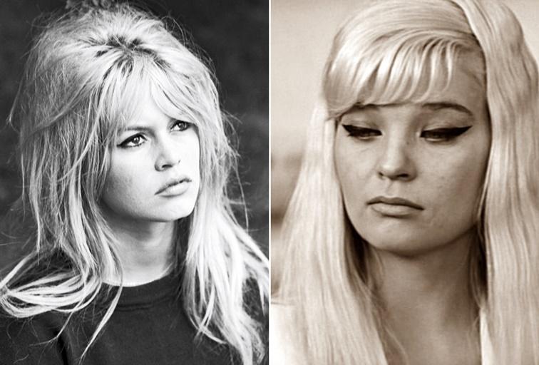 Brigitte Bardot vs Svetlana Svetlichnaya