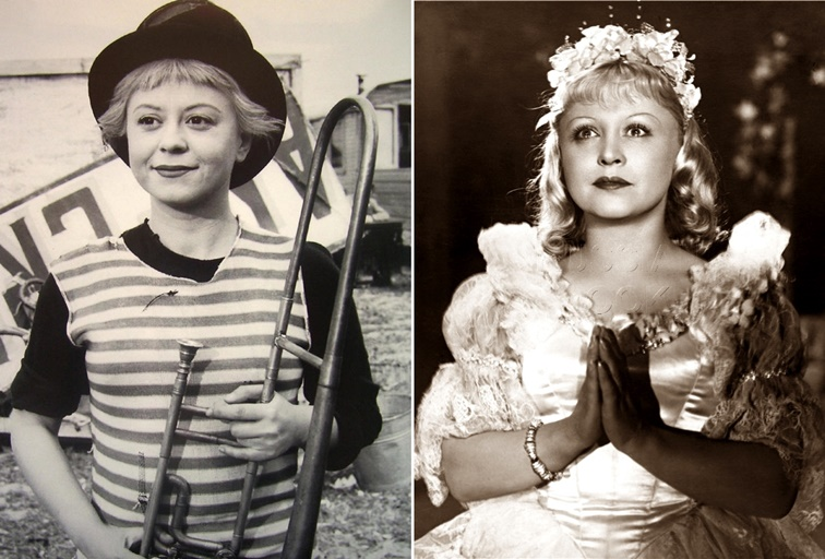 Giulietta Masina vs Yanina Zhejmo