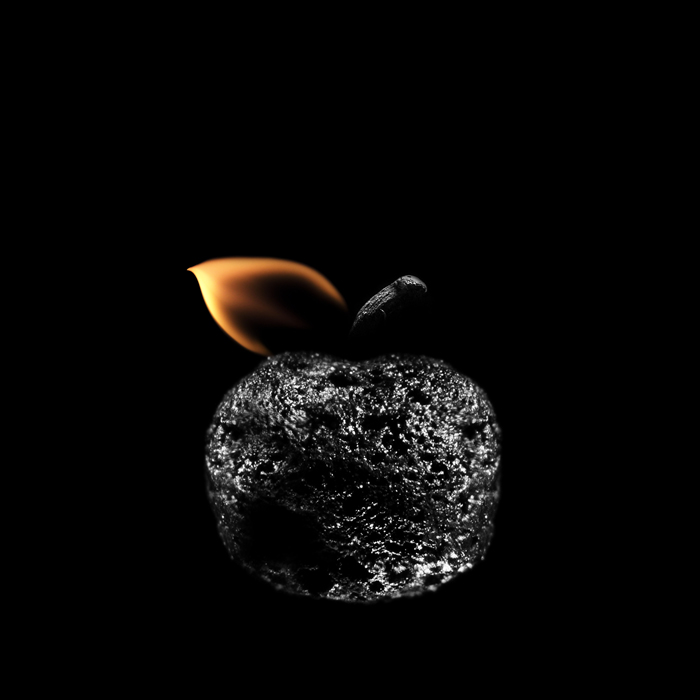 Playing with matches - artwork by Stanislav Aristov - Apple