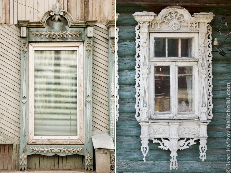 Traditional Russia: Fabulous hand-carved wooden window frames - 23