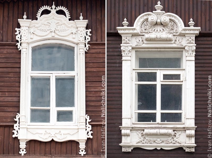 Traditional Russia: Fabulous hand-carved wooden window frames - 36