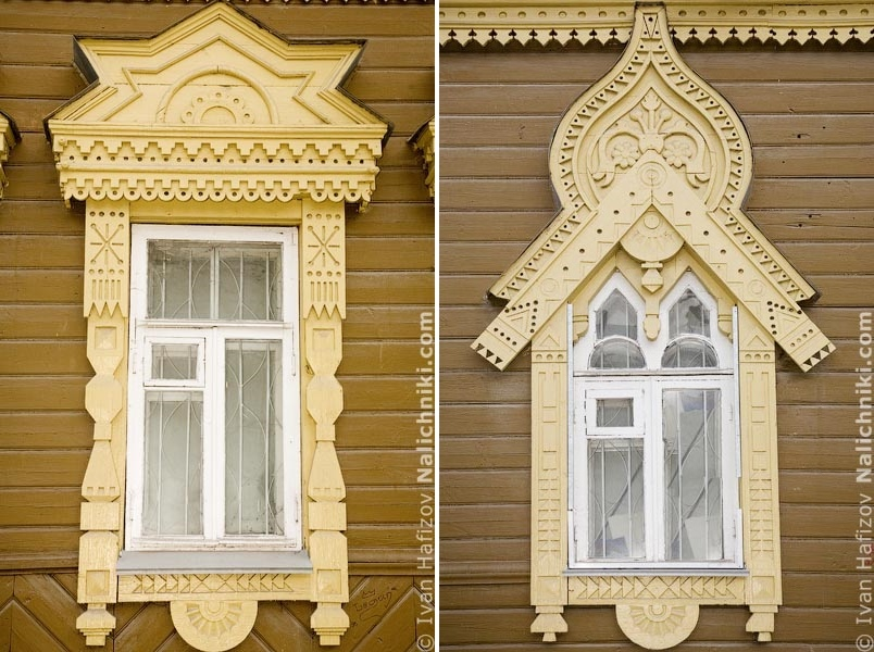 Traditional Russia: Fabulous hand-carved wooden window frames - 43