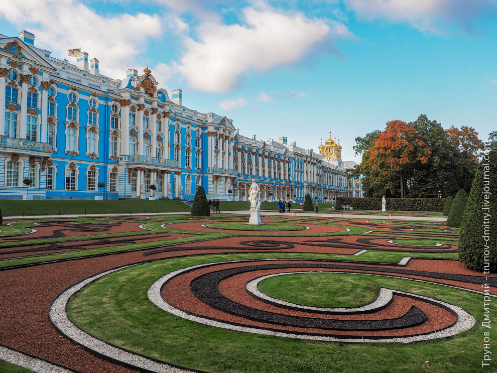 Walk around the imperial residence Pushkin in Saint Petersburg - 2