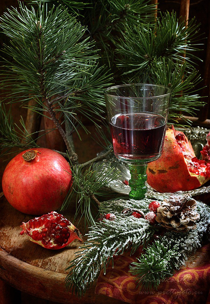 Bright new-year still lifes with Russian soul by Marina Volodko - 16