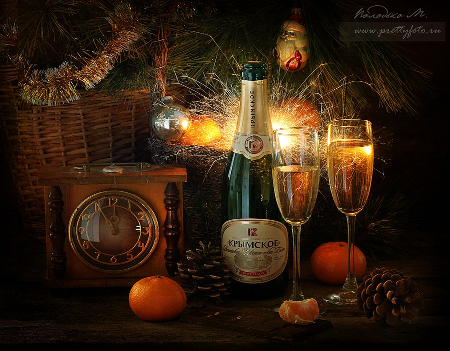 Bright new-year still lifes with Russian soul by Marina Volodko - 19
